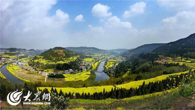 被纳入健康谷范围内的乡村景色  (图由德阳市委宣传部提供).png