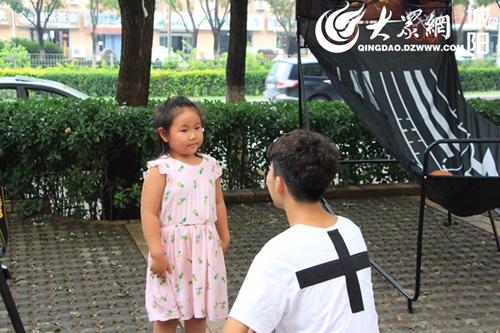 青岛农业大学学生团队开展儿童防拐卖宣讲活动