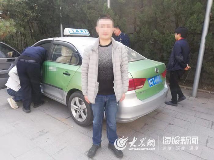 流亭机场周边区域管控分队严查出租车非法营运 维护城市迎客松形象