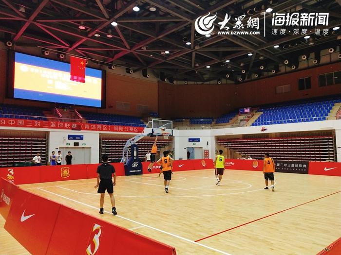 2019中国三对三篮球联赛 青岛赛区 城阳分赛区开赛图片