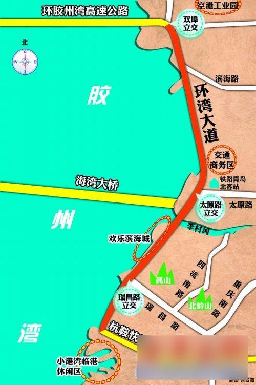 仨立交桥打破交通瓶颈 有望改写环湾经济版图