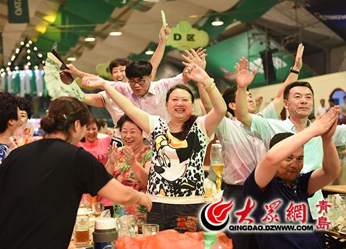 第27届青岛国际啤酒节将于8月4日—27日在青岛西海岸新区金沙滩啤酒城