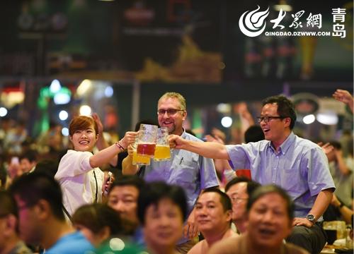 200多种啤酒入驻 第27届青岛国际啤酒节让你喝过瘾