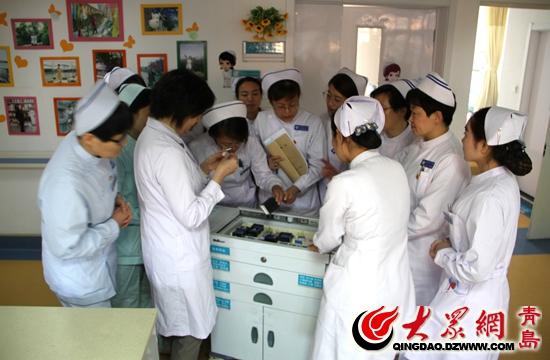 青岛西海岸新区中心医院组织开展分级护理知识讲座