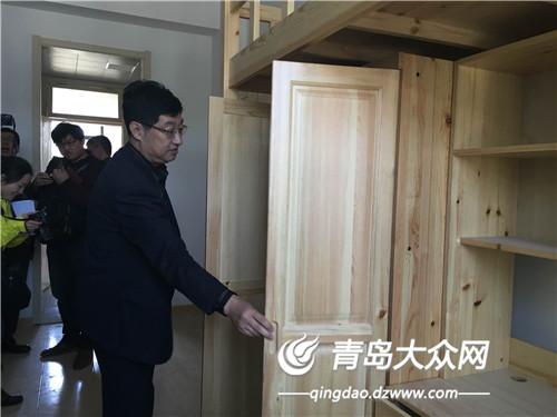 青岛六中布告陈同法介绍学校宿舍情形