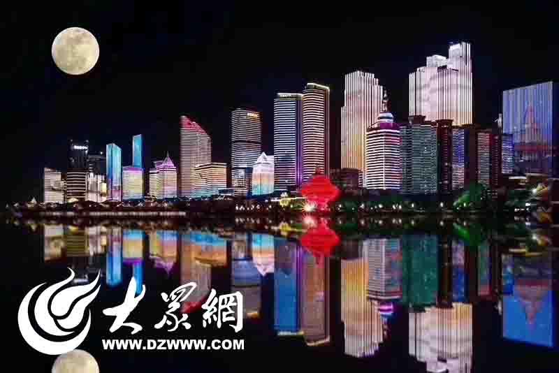 胶州开通青岛五四广场夜景直通车