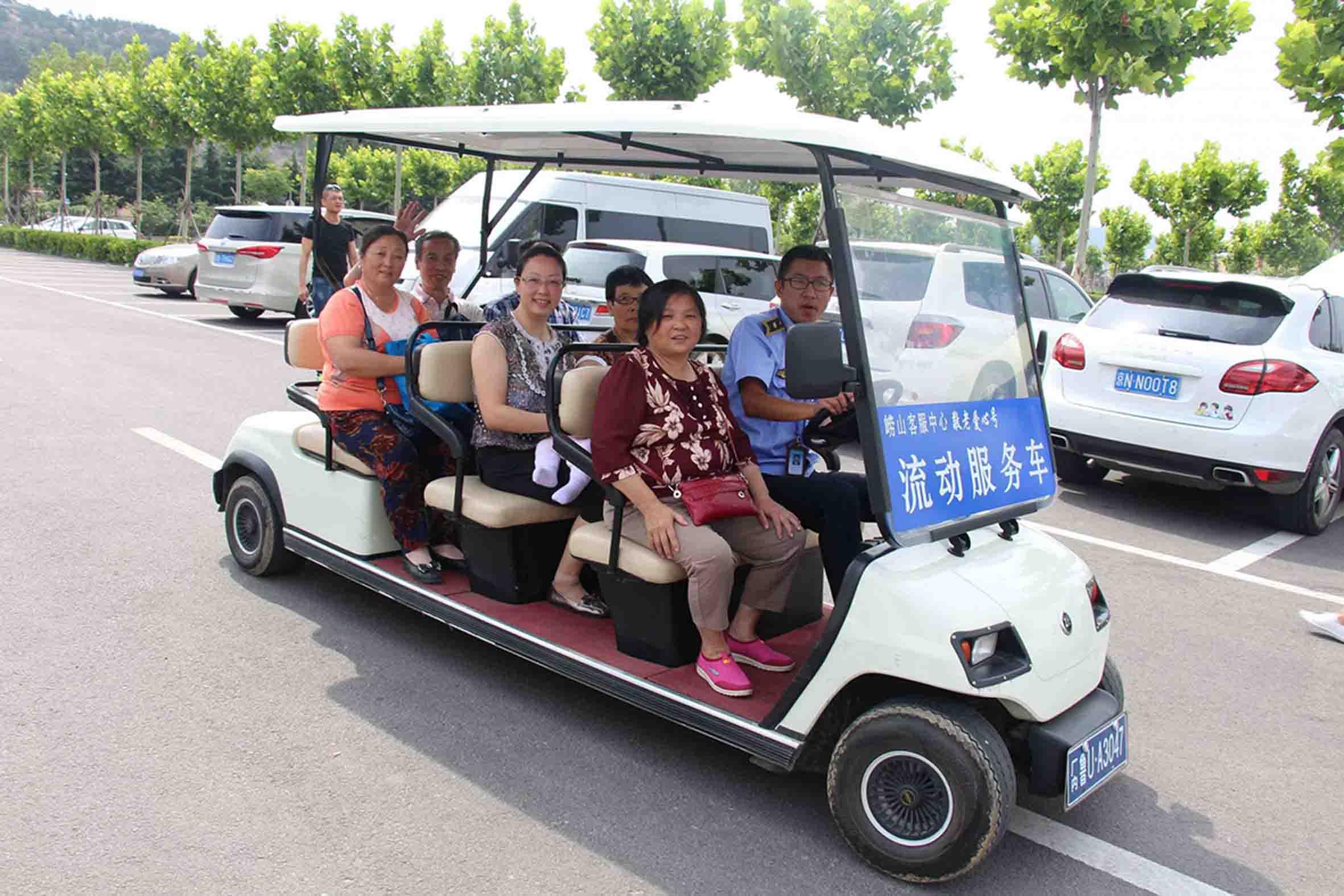 崂山风景区流清管理处作为山东省老年人公益维权服务示范站和青岛市