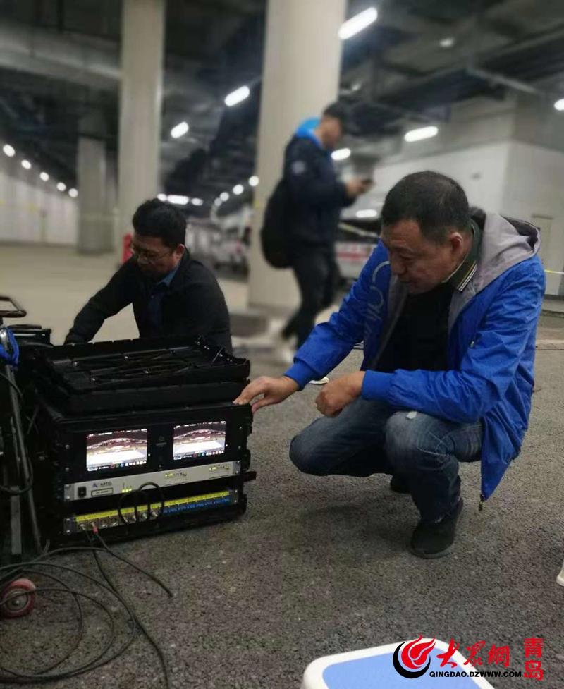 记者了解到,青岛联通为本次省运会提供了光纤,宽带专线,固话以及