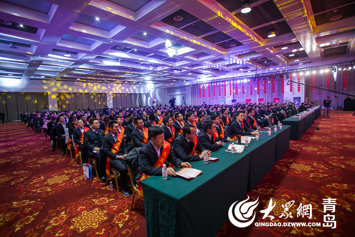 青岛城投集团在青岛国际会展中心隆重举行了城投集团2018年度工作会议