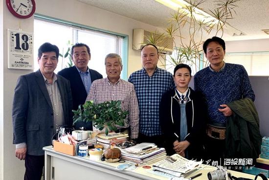 青岛市妈祖文化联谊会再度赴日访问交流