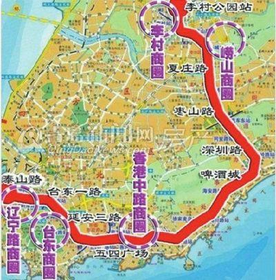 青岛地铁3号线完工六成 明年或开工1号2号线图片