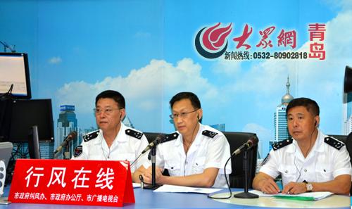 青岛公交集团总经理王玲做客行风在线.-胶州湾隧道限速50公里 隧道
