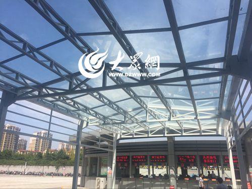 升级改造 新增风雨连廊