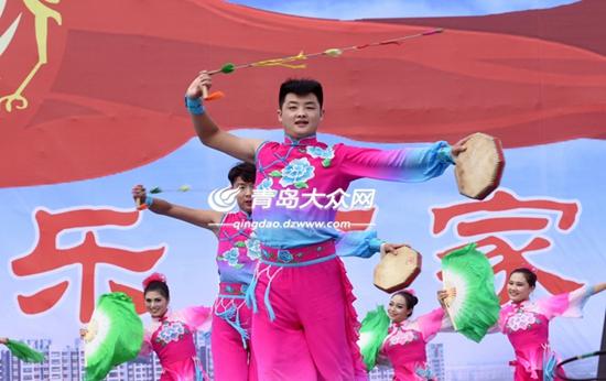 大美胶州 第四届中国秧歌节在胶州开幕