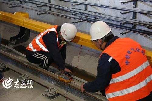 青岛地铁2号线东段实现电通