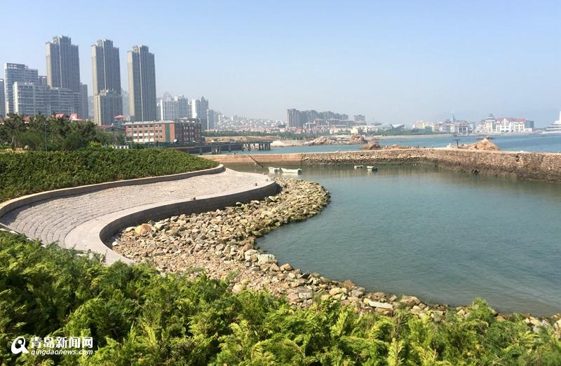 以最优设计,最高水平建设,崂山区将张村河打造成崂山主城区的生态之河