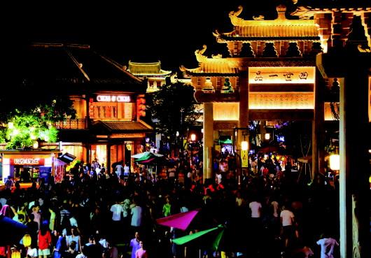 唯美时尚网| 《悦即墨·夜古城》打造立体古城时尚生活 带来青岛时尚夜经济发展