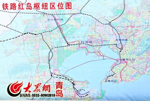 济青高铁红岛设站 2019年1小时直达济南图片