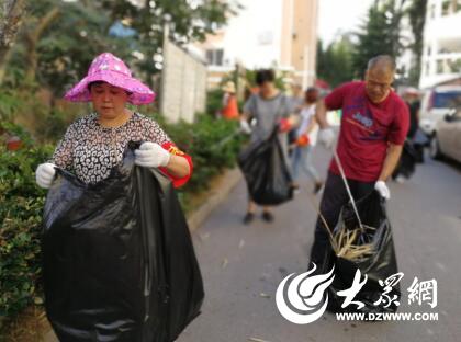 金家岭街道开展洁净家园整治行动 营造整洁环境_青岛