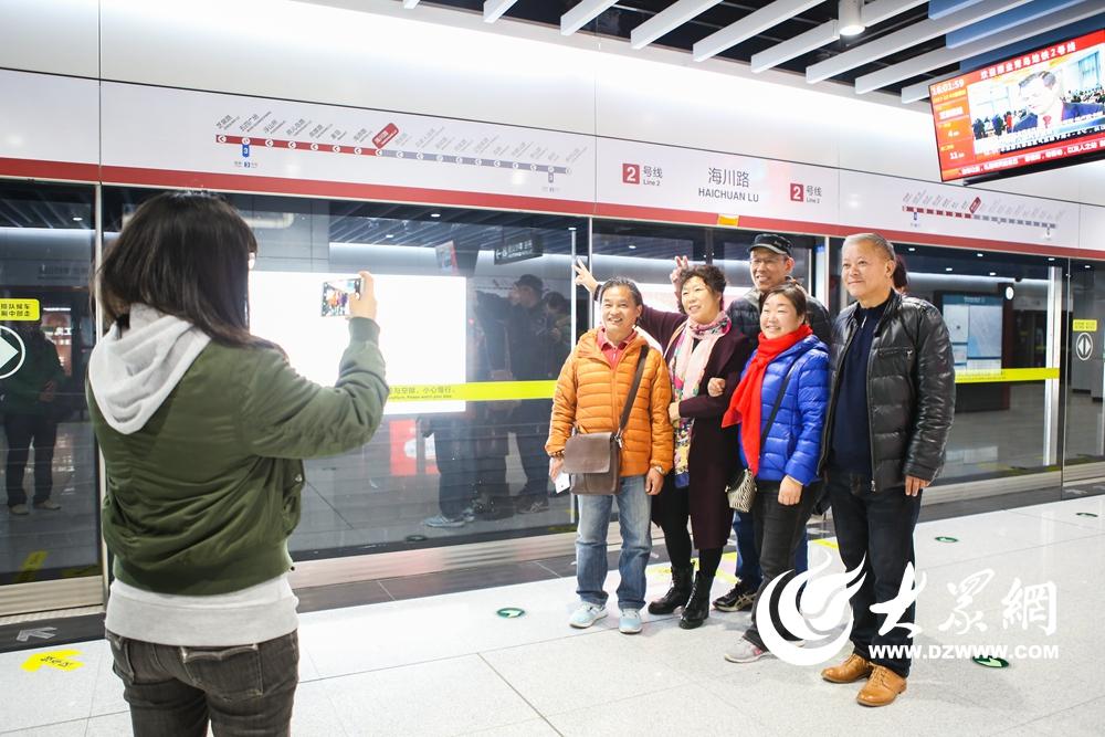 青岛地铁2号线试乘活动结束 进入试运营倒计时