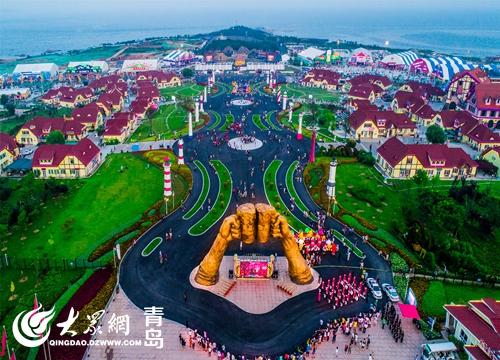 青岛西海岸新区:节庆搭台连四海 一带繁花一路朋